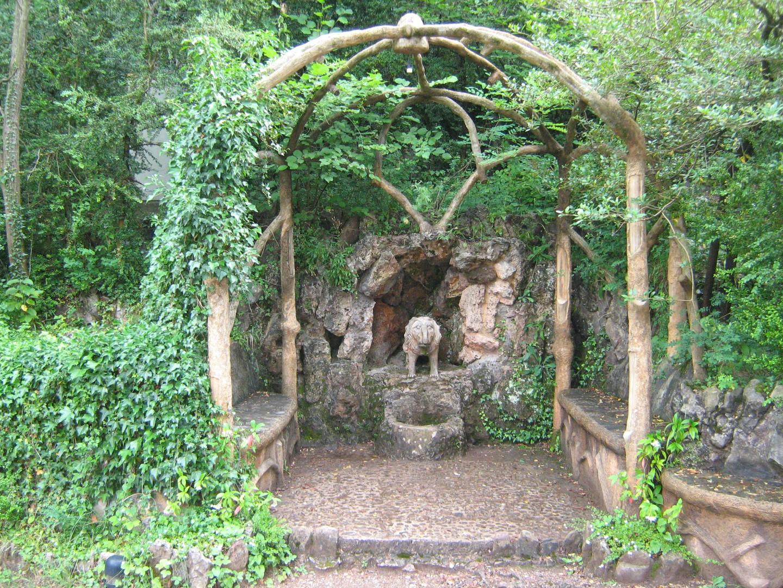 Los jardines artigas la pobla de lillet barcelona gu a del turista friki - Esquelas leon los jardines ...